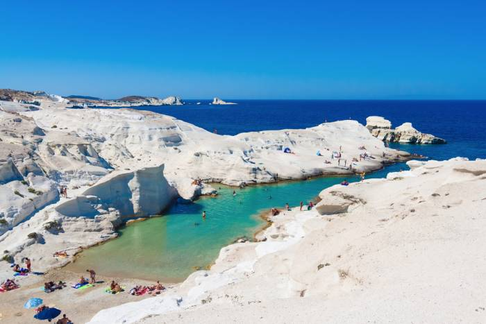 Sarakiniko Beach Greece