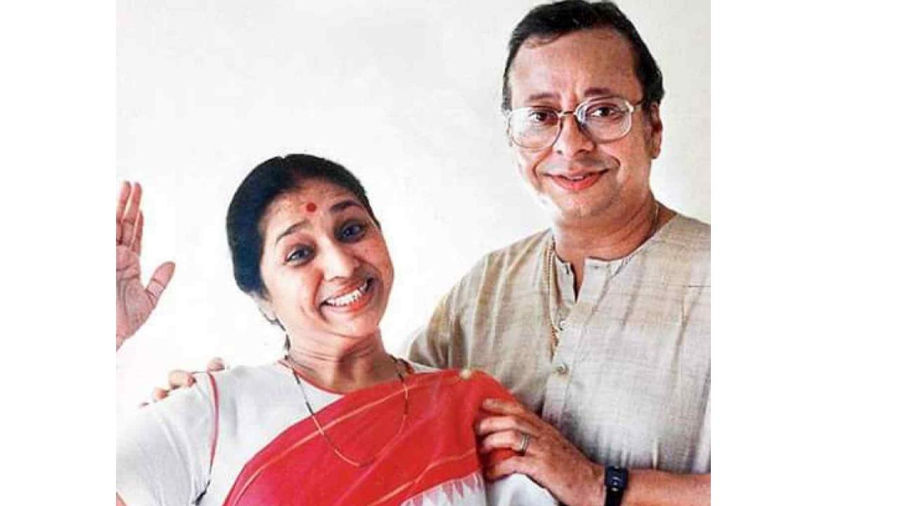 Asha Bhosle With R.D Burman