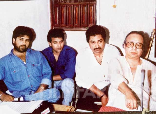 Kumar Sanu With Aditya Narayan