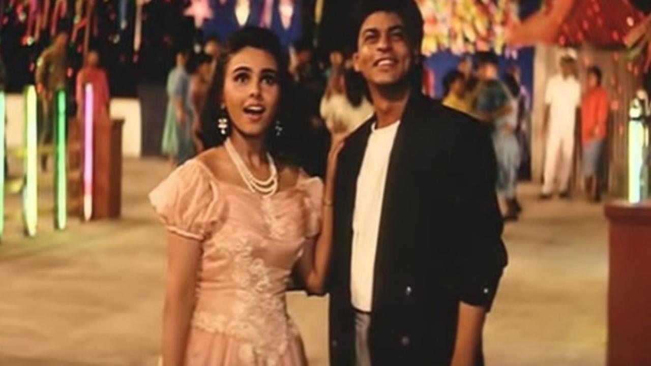 Shahrukh Khan In Kabhi Ha Kabhi Na