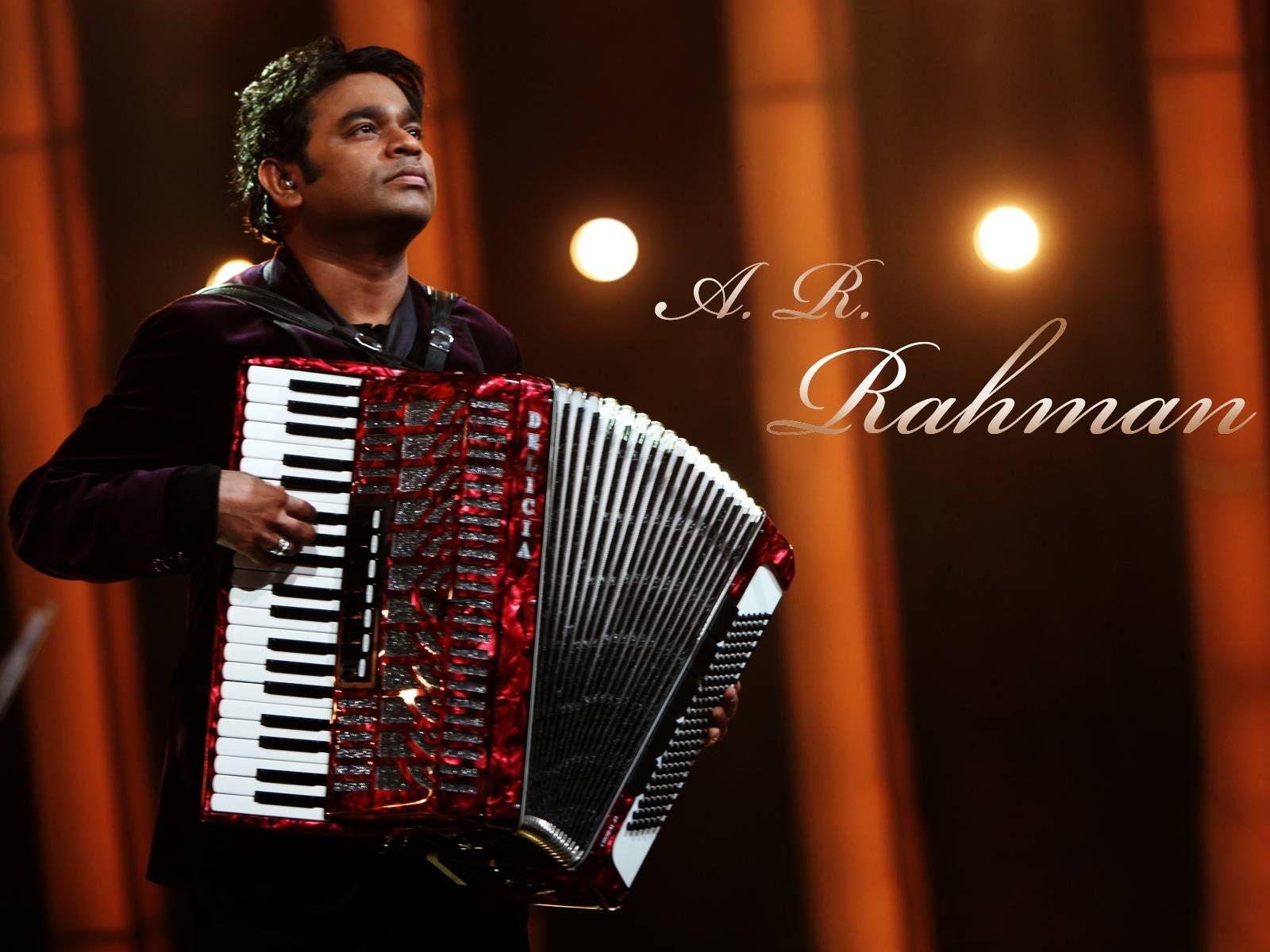 A.R Rahman Singer, Composer