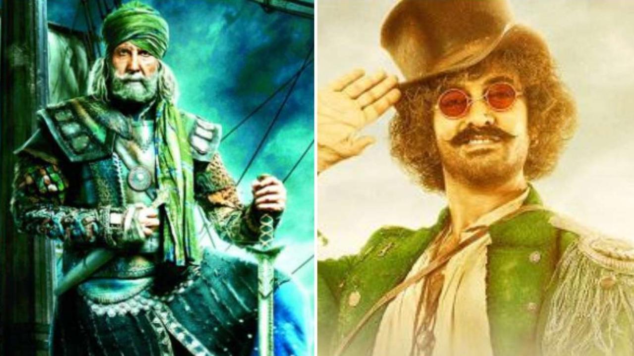 Amitabh Bachchan And Amir Khan In Thugs Of Hindostan