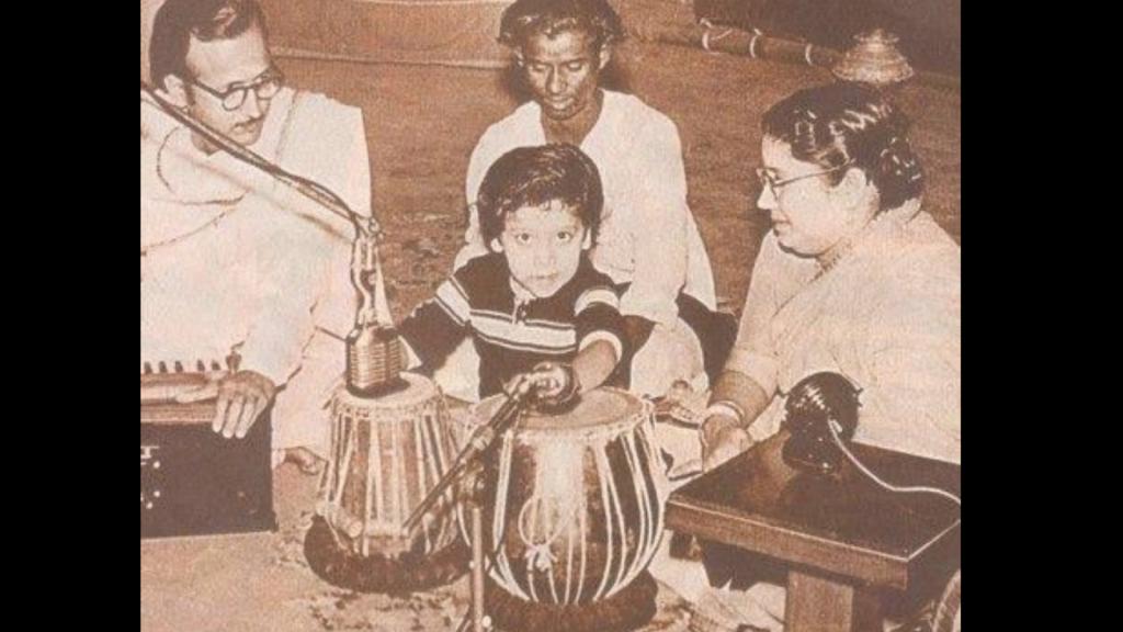 Bappi Da Playing Tabla At Age 5