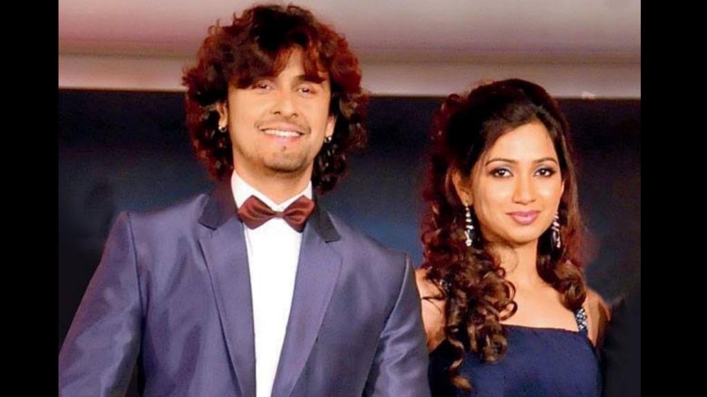 Sonu Nigam With Shreya Ghoshal