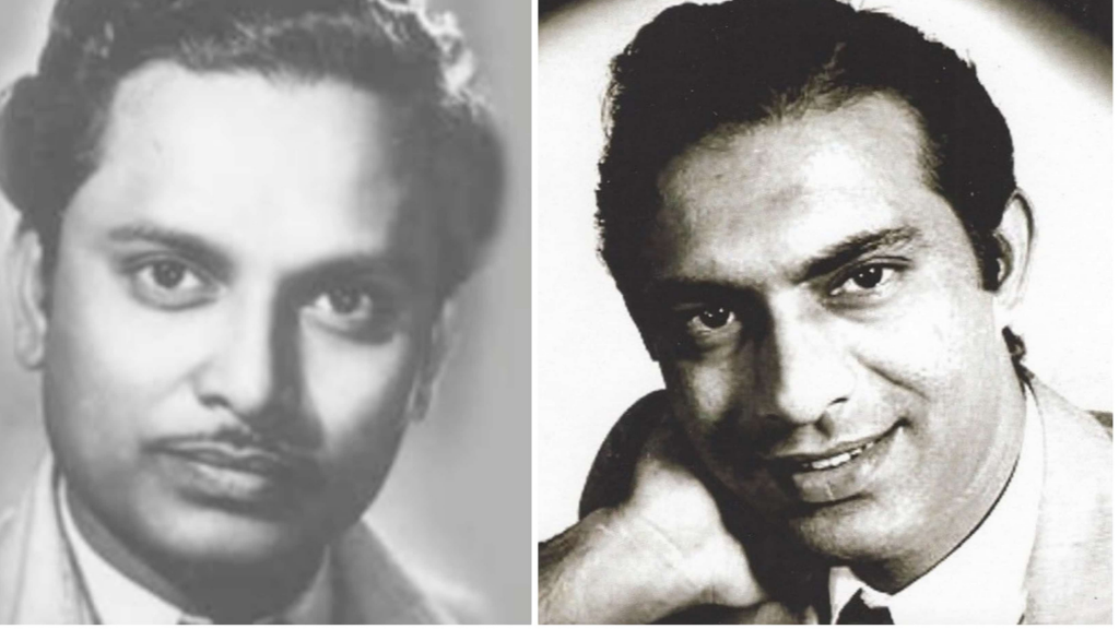 Talat Mahmood With His Mentor Anil Biswas