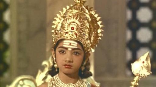 Sridevi As Child Murugan On Gaana Pehchaana