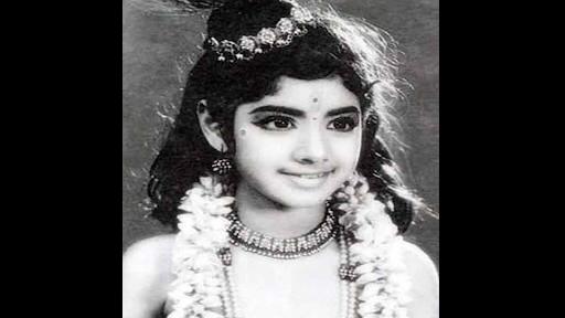 Sridevi In Her First Movie