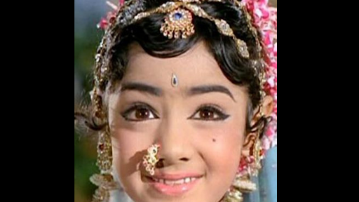 Sridevi At Age 6